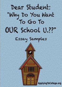 Example of good essay for college application